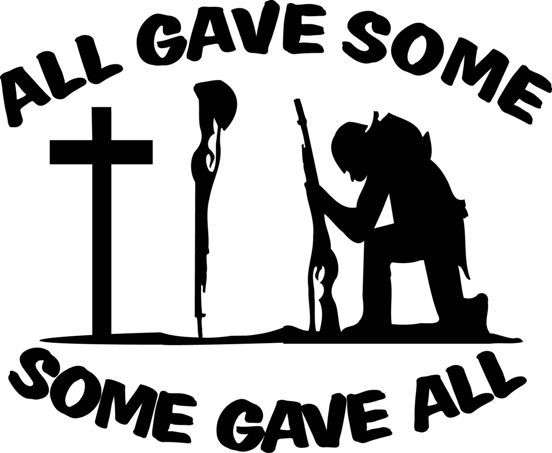 All gave some some gave all clipart banner library library All gave some, some gave All. | Yellow Ribbon | Missing my soldier ... banner library library