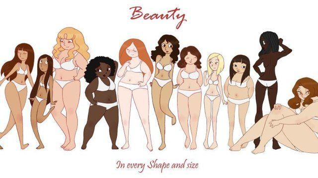 All gender body positive clipart banner library library fat art | Tumblr | Body positive | Fat art, Loving your body, Positivity banner library library