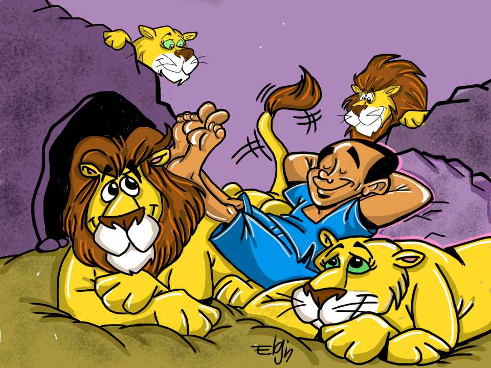 All good things free clipart daniel lions den image free Daniel in the Lion\'s Den\