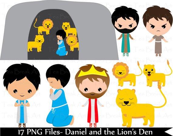All good things free clipart daniel lions den clipart transparent 17 PNG Files- Daniel and the Lion\'s Den- Digital Clip Art Graphics ... clipart transparent