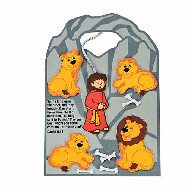 All good things free clipart daniel lions den picture freeuse download Daniel Cast to the Lions' Den Craft Kit picture freeuse download