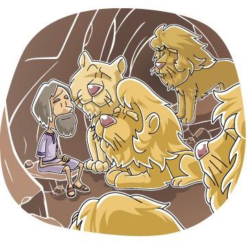 All good things free clipart daniel lions den jpg transparent Daniel & the Lions Den (100% Free) Kids Story, Lesson, Printable ... jpg transparent