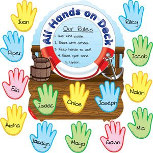 All hands on deck clipart