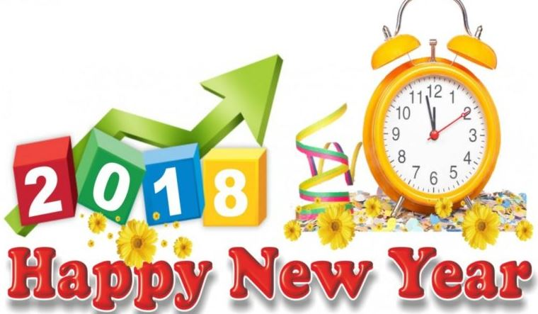 New years clipart 2018