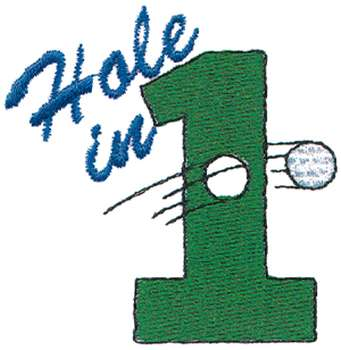 Hole in one clipart images