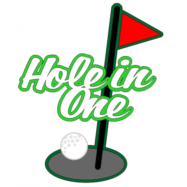 Hole in one clipart images clip art freeuse stock Hole in One - Die Cut   * unsorted Silhouettes, Vectors, Clipart ... clip art freeuse stock