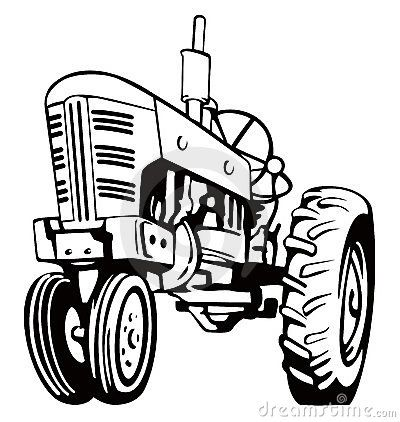 John deere clipart black and white banner royalty free download Orange Tractor Clipart | Clipart Panda - Free Clipart Images ... banner royalty free download