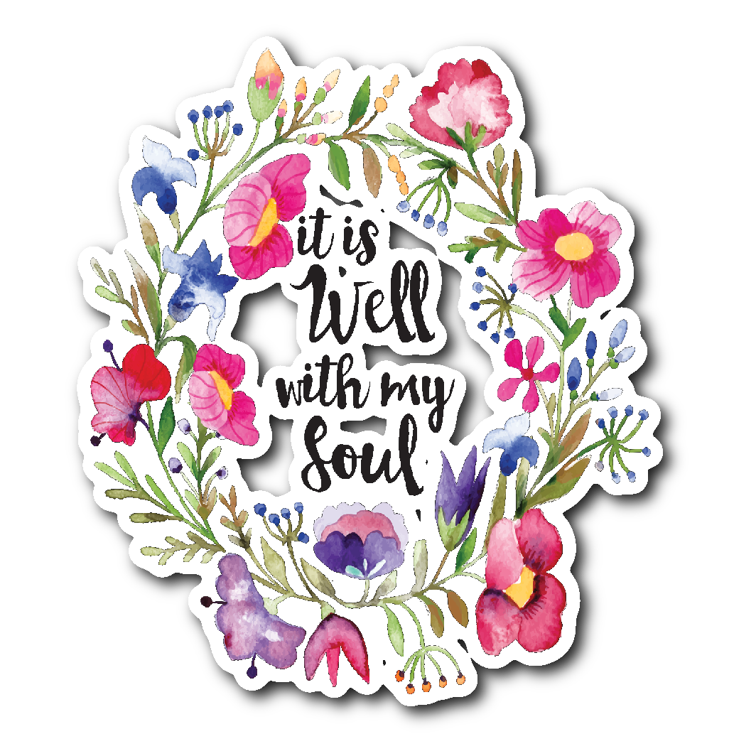 All is well with my soul clipart jpg black and white library IT IS WELL WITH MY SOUL 3 jpg black and white library