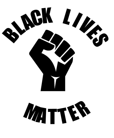 All lives matter clipart freeuse \'Black Lives Matter With Clenched Fist\' Poster by Kiwi-Tienda2017 freeuse
