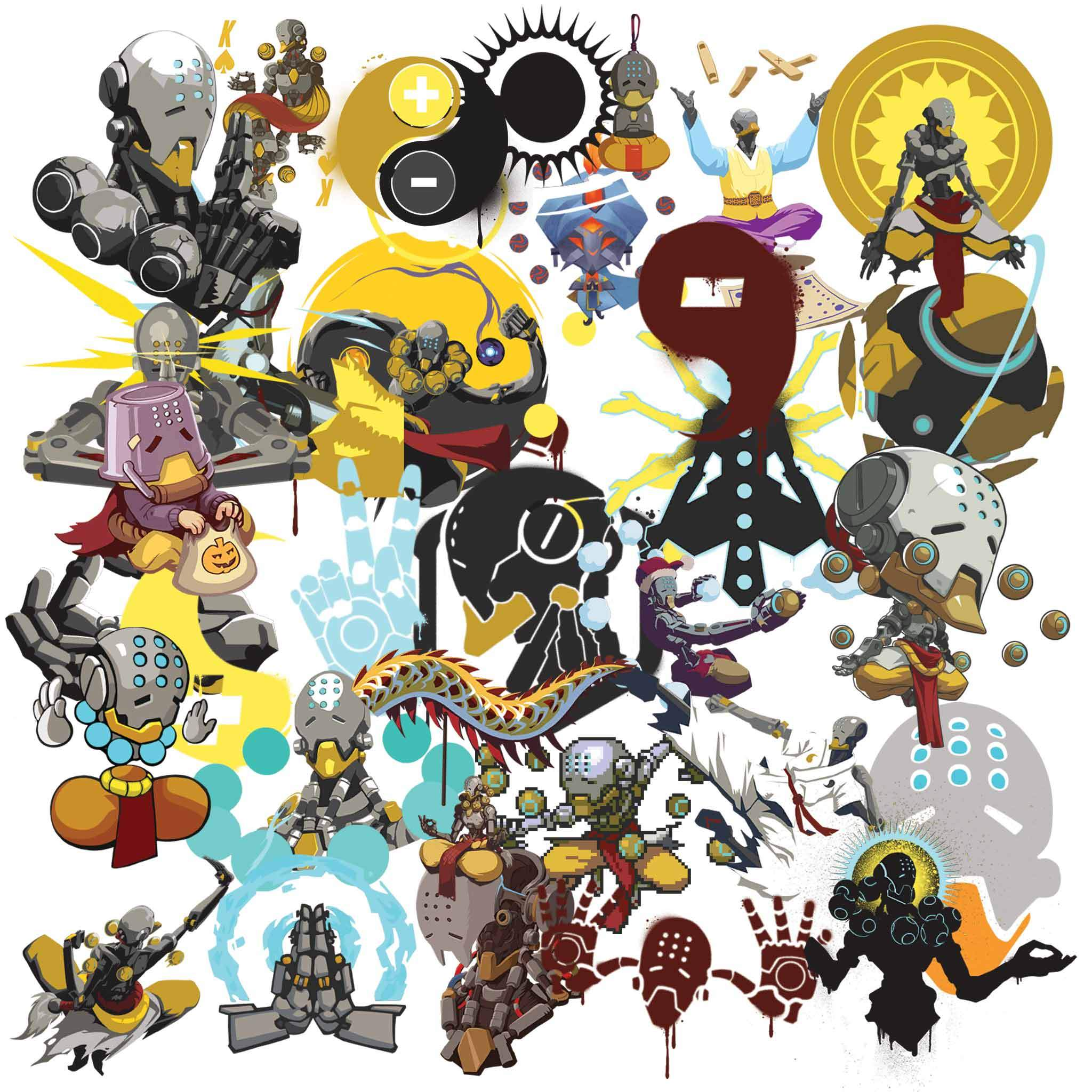 All overwatch cliparts jpg transparent library Overwatch Zenyatta Clipart jpg transparent library