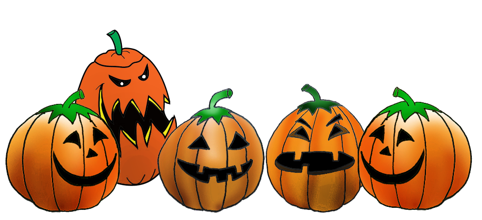 Clipart borders halloween vector freeuse 28+ Collection of Pumpkin Row Clipart | High quality, free cliparts ... vector freeuse