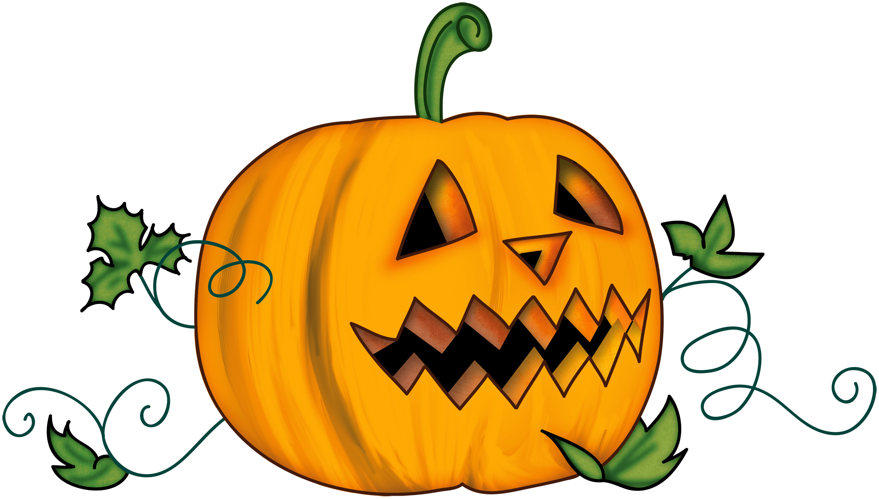 Free pumpkin cartoon clipart images halloween png black and white download Free Pumpkin Clipart at GetDrawings.com | Free for personal use Free ... png black and white download