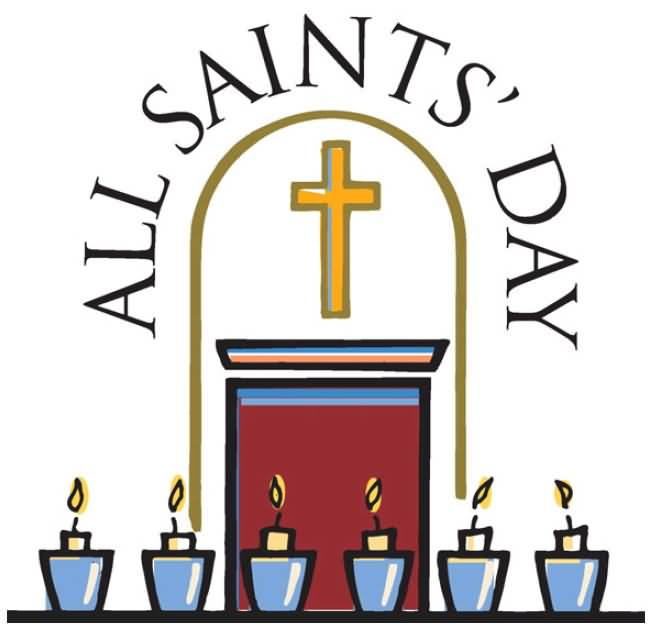 All saints sunday 2018 clipart clip library library 18 Beautiful All Saints Day Clipart Wish Pictures And Photos clip library library