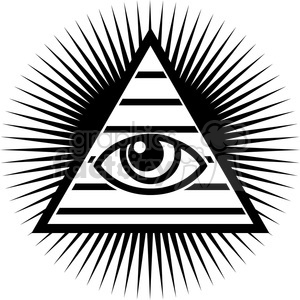 All seeing eye clipart black and white picture royalty free library all seeing eye design clipart. Royalty-free clipart # 384821 picture royalty free library