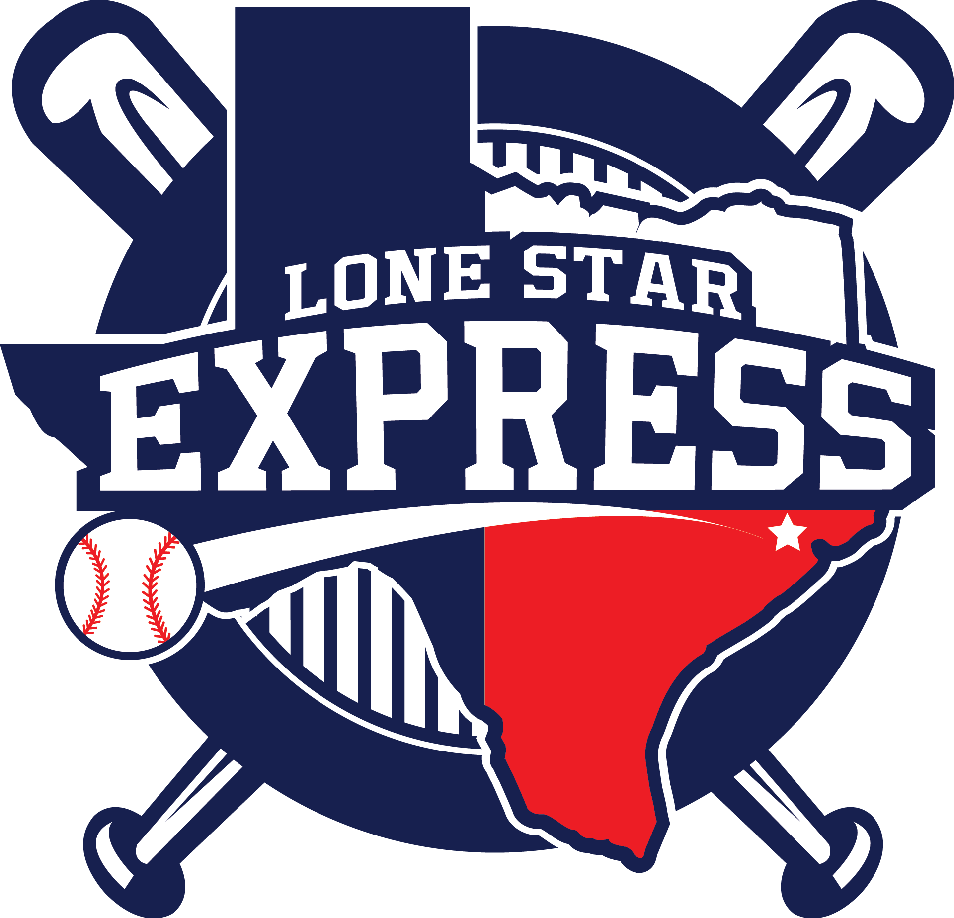 All star baseball clipart graphic library LONE STAR EXPRESS 9U graphic library
