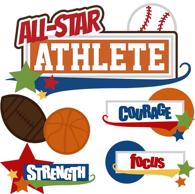 All star baseball clipart jpg free download All-Star Athlete SVG cut files for scrapbooking baseball svg ... jpg free download