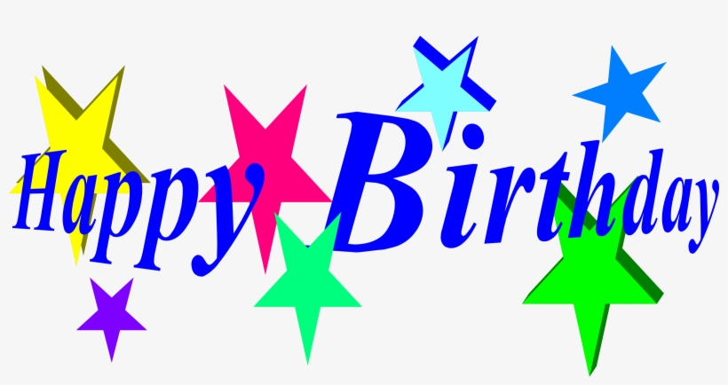 All star birthday clipart banner library stock Stars Clipart Happy Birthday - Happy Birthday Clipart - Free ... banner library stock