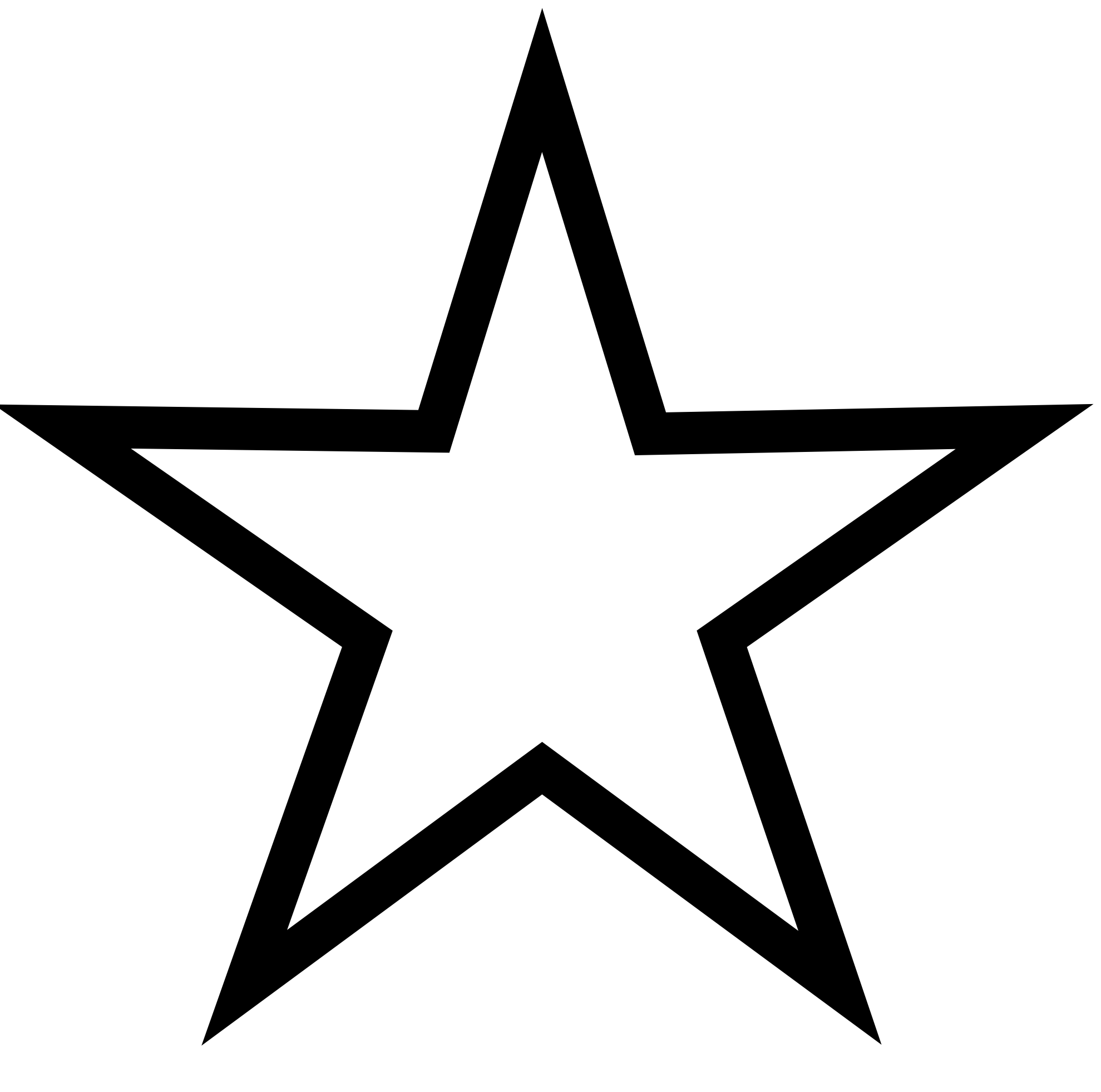 Star download clip art. Free clipart stars row of 10 black & white