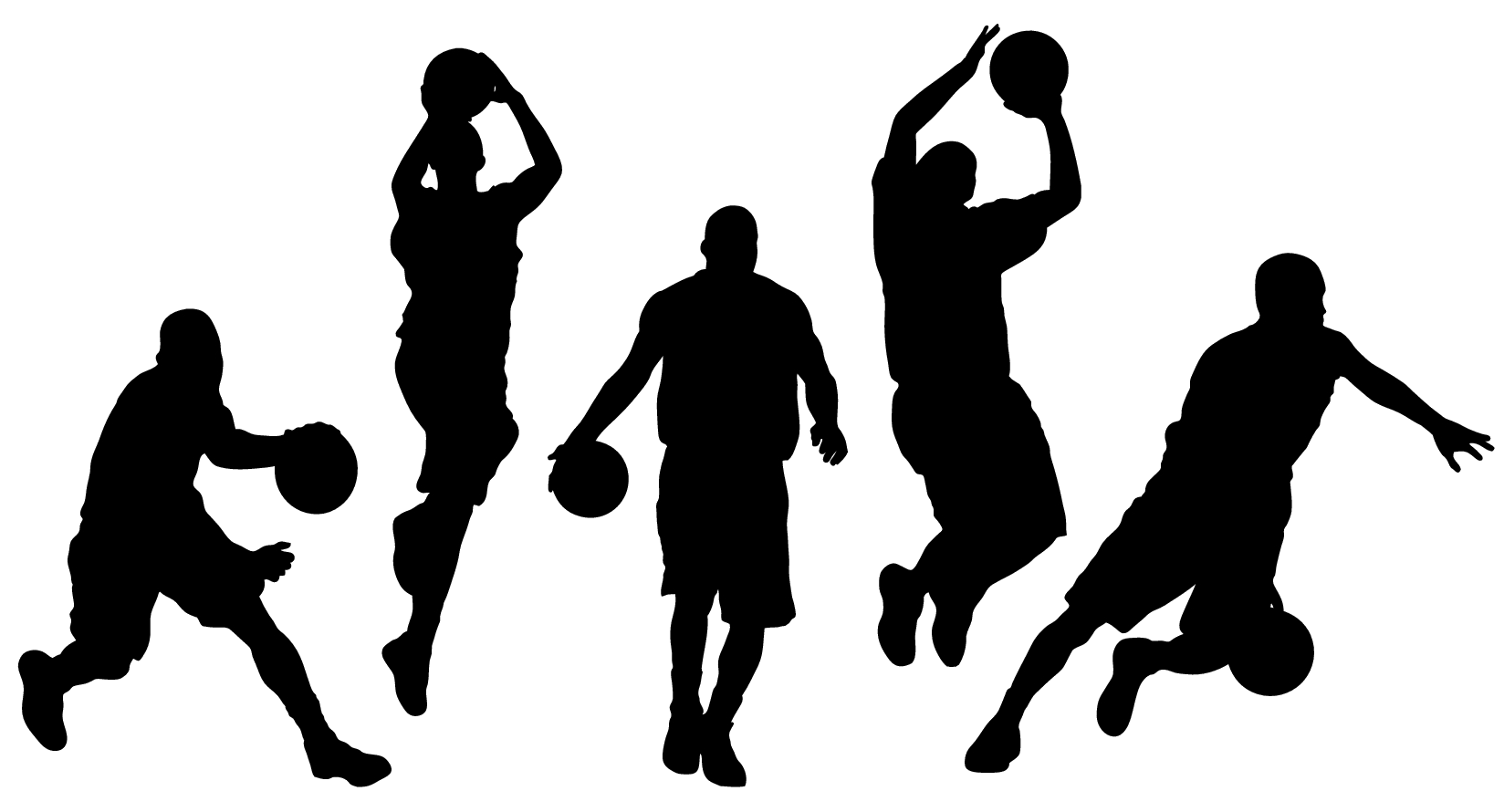 Kid playing on a basketball team clipart picture black and white stock About Us | All-Stars Kid Sports picture black and white stock