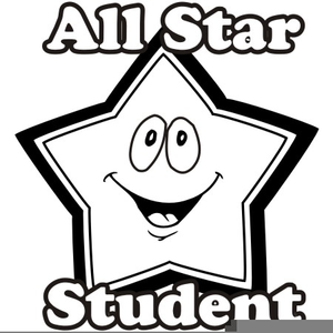 All star student clipart banner black and white stock Star Student Clipart | Free Images at Clker.com - vector clip art ... banner black and white stock
