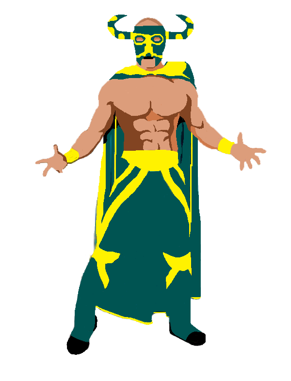 "All star wrestling clipart png royalty free library On The Road With ""The Mexican Sensation"" El Ligero: All-Star, Ringo ... png royalty free library"