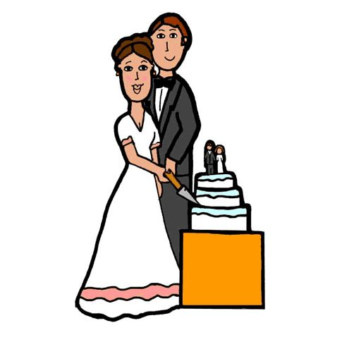 Wedding photo clipart clipart free stock 9 Places to Download Free Wedding Clipart clipart free stock