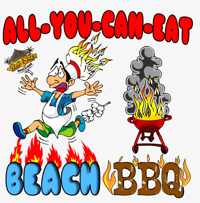 All yo can eat clipart vector freeuse library All You Can Eat International Beach Bbq & Buffet At - Clip Art ... vector freeuse library