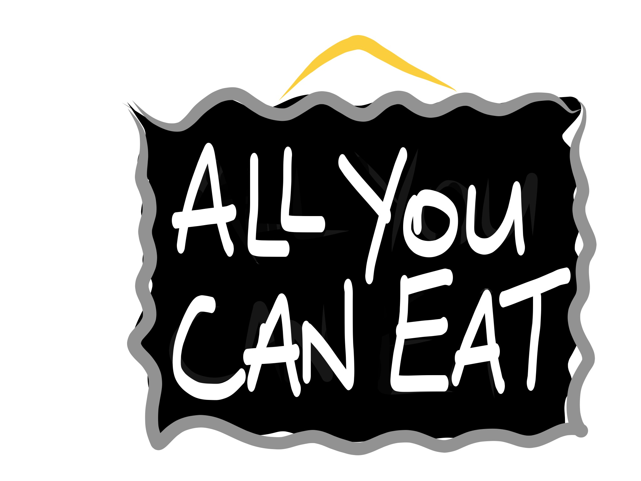 All yo can eat clipart clip library stock All You Can Eat - Clear Thinking clip library stock