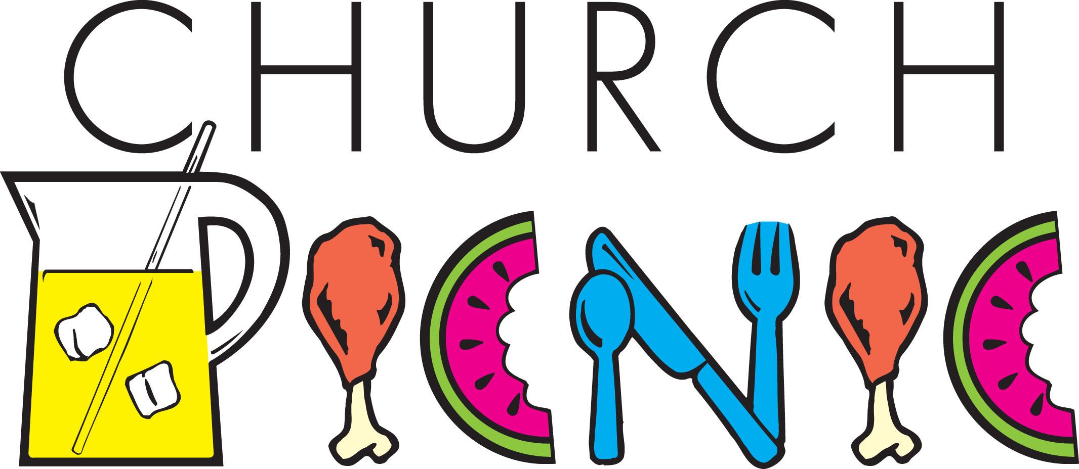 All-church picnic clipart