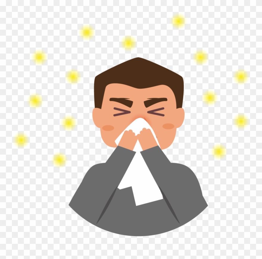 Allergic rhinitis clipart royalty free download People With Hay Fever Or Perennial Allergic Rhinitis - Symptom ... royalty free download