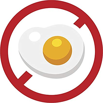 Allergy egg symbol clipart freeuse download Amazon.com: Allergen Allergy Caution Warning Cartoon Icon Vinyl ... freeuse download