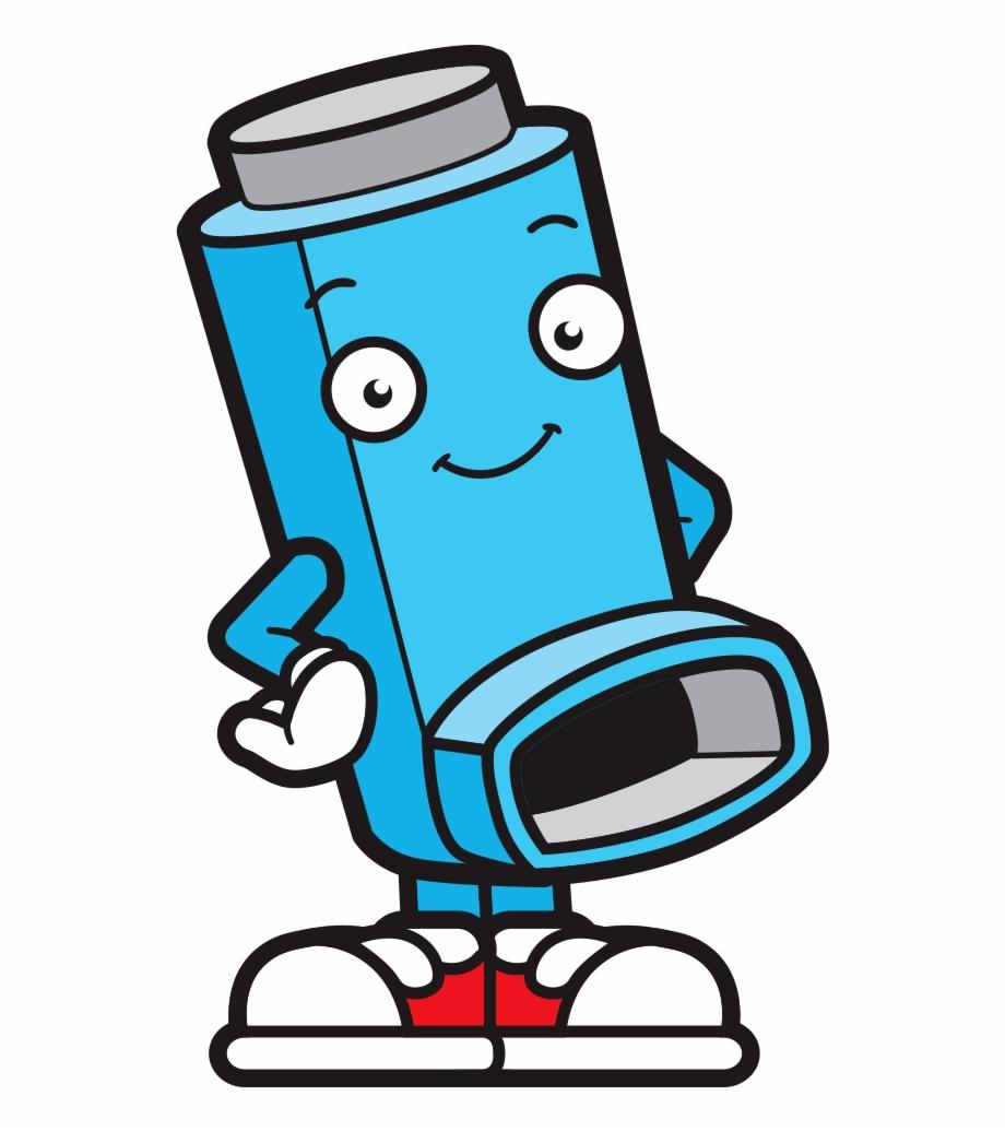 Allergy list for children clipart vector transparent download Allergy Kids Asthma Cartoon Character - Asthma Puffer Clip Art ... vector transparent download