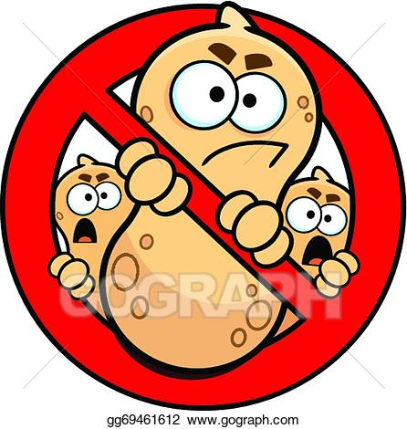 Allergy sign clipart banner library stock Vector Stock - No peanuts allowed allergy sign. Clipart Illustration ... banner library stock