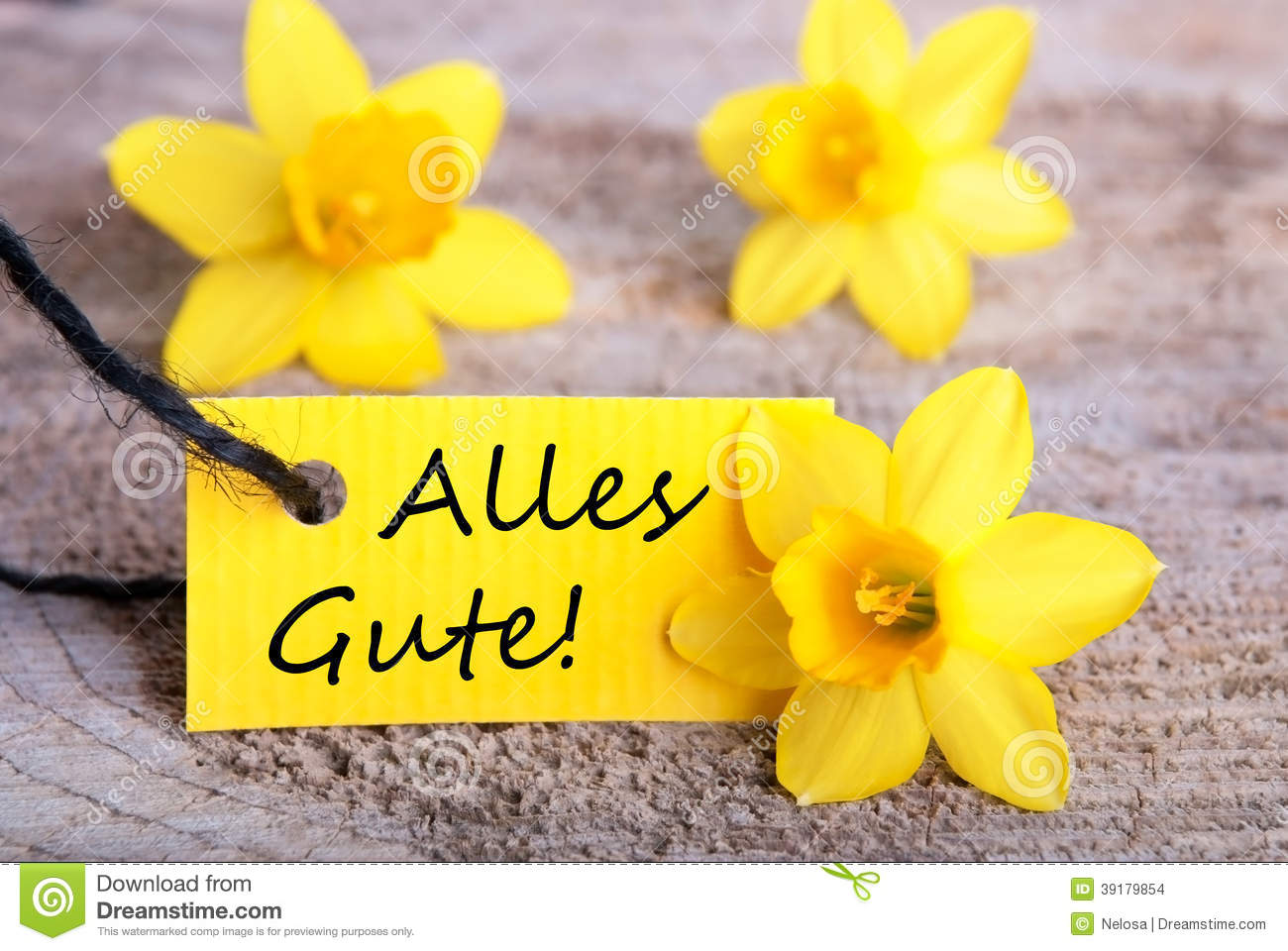Alles gute picture freeuse download Yellow Label With Alles Gute Stock Photo - Image: 39179854 picture freeuse download