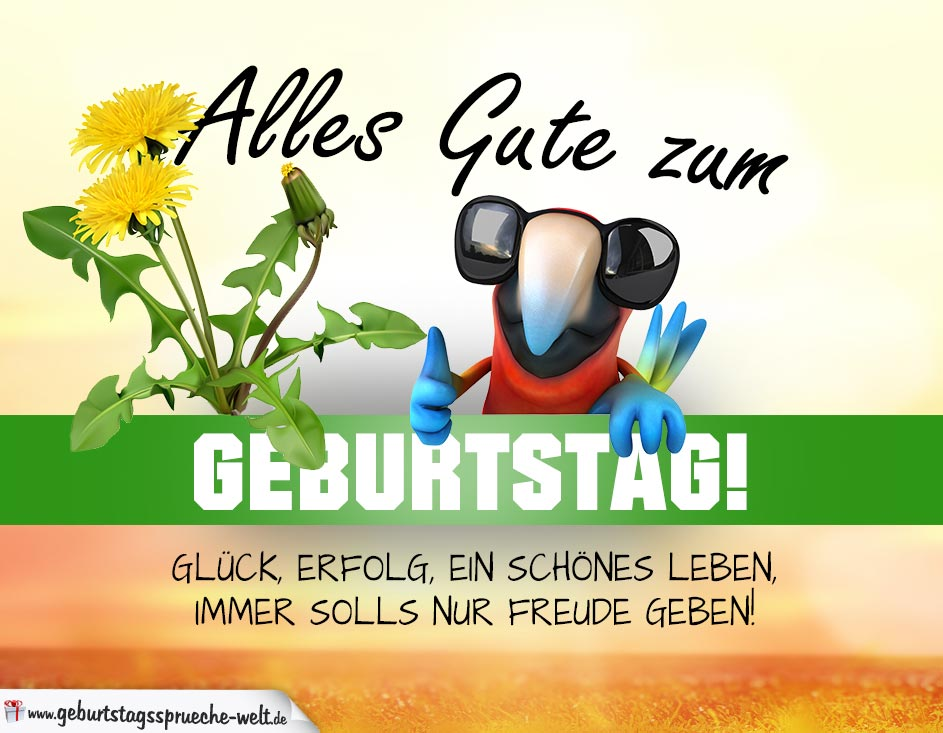 Alles gute png library library Geburtstagskarte ALLES GUTE im hellen Sommerlook png library library