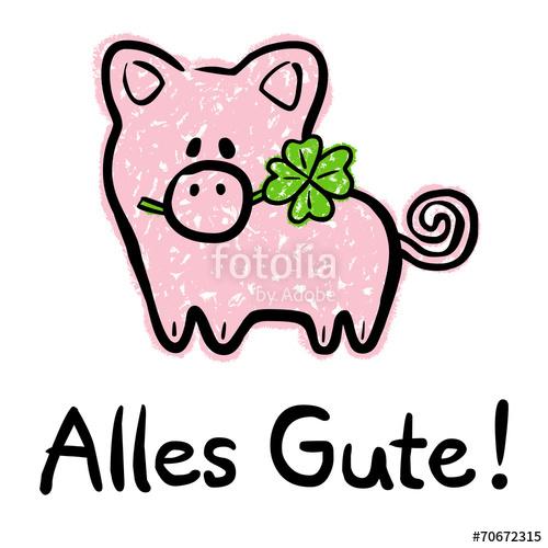 Alles gute jpg free download Alles-Gute-Karte mit Glücksschwein und vierblättrigem Kleeblatt ... jpg free download