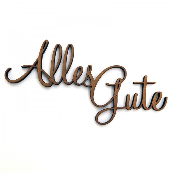 Alles gute svg royalty free Alles Gute 18.5 x 9.5 cm | no-gallery.com svg royalty free