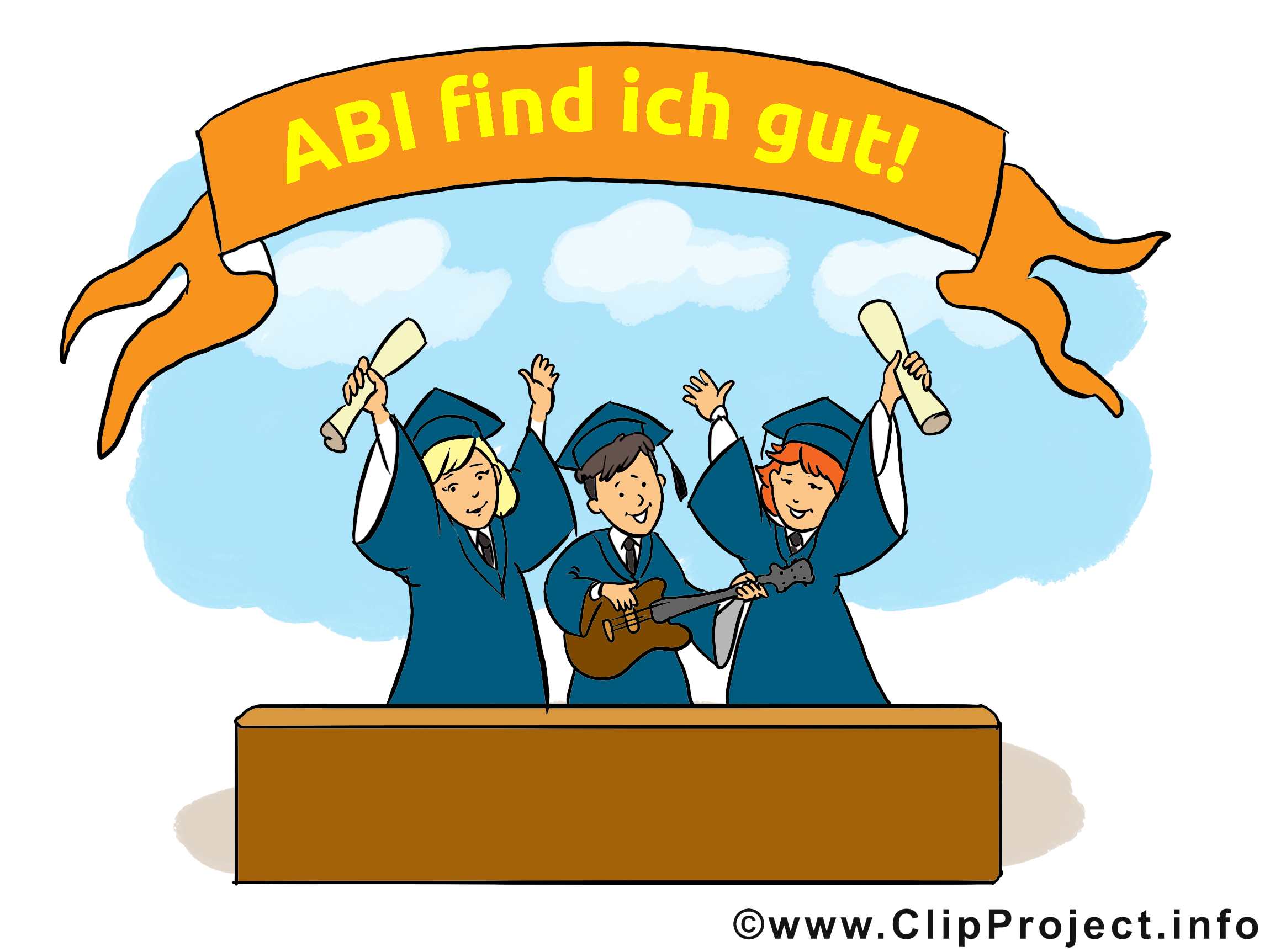 Alles gute clipart image library Alles Gute zum Abitur Bild, Karte, Clipart image library