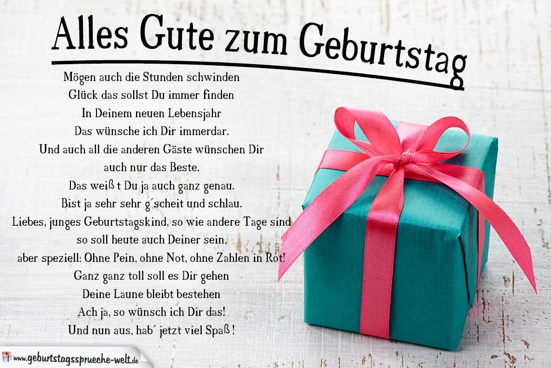 Alles gute zum geburtstag banner free Alles Gute zum Geburtstag Gedicht - Geburtstagssprüche-Welt banner free