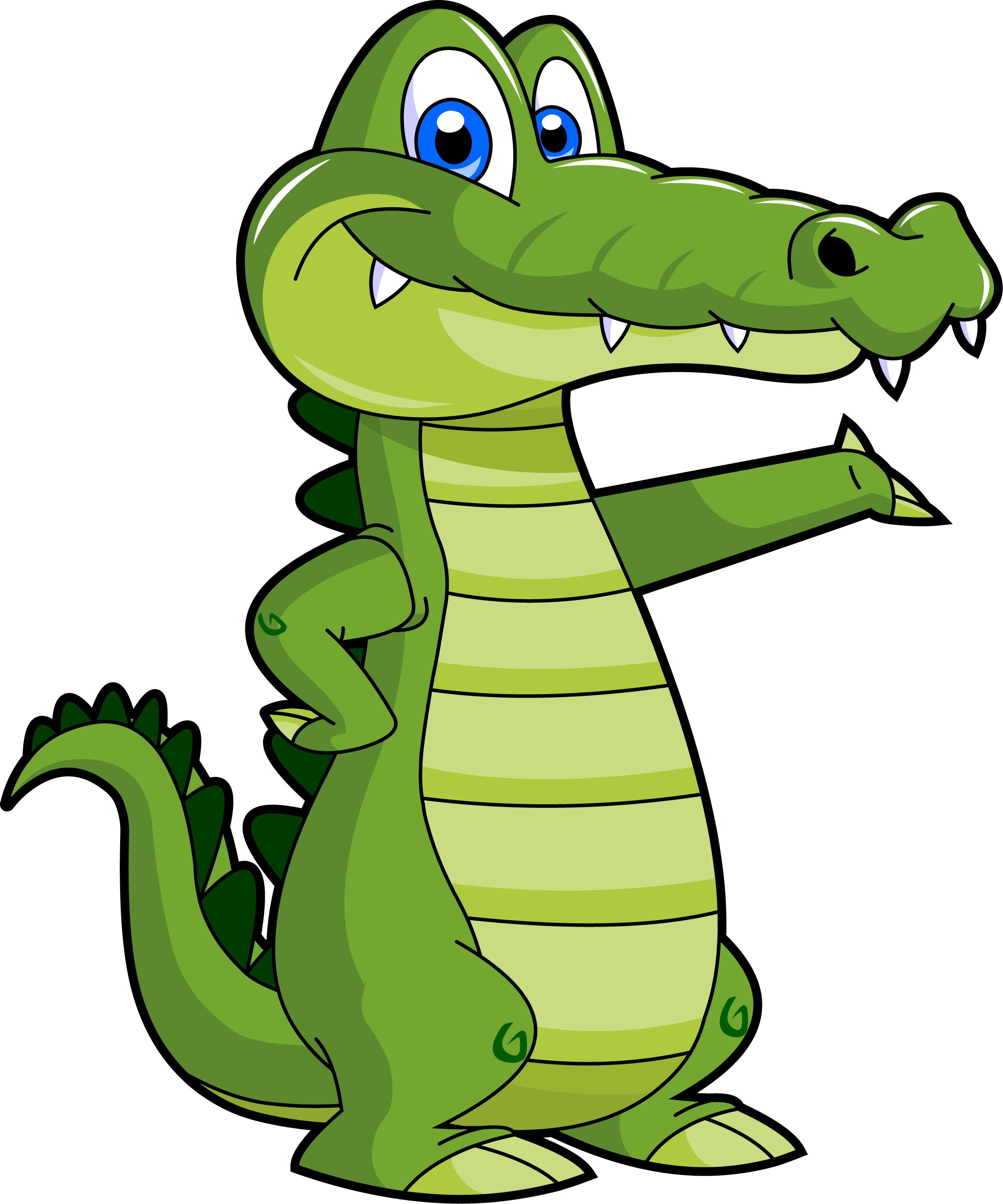 Alligator cute clipart picture black and white library Free Cartoon Pictures Of Alligators, Download Free Clip Art, Free ... picture black and white library