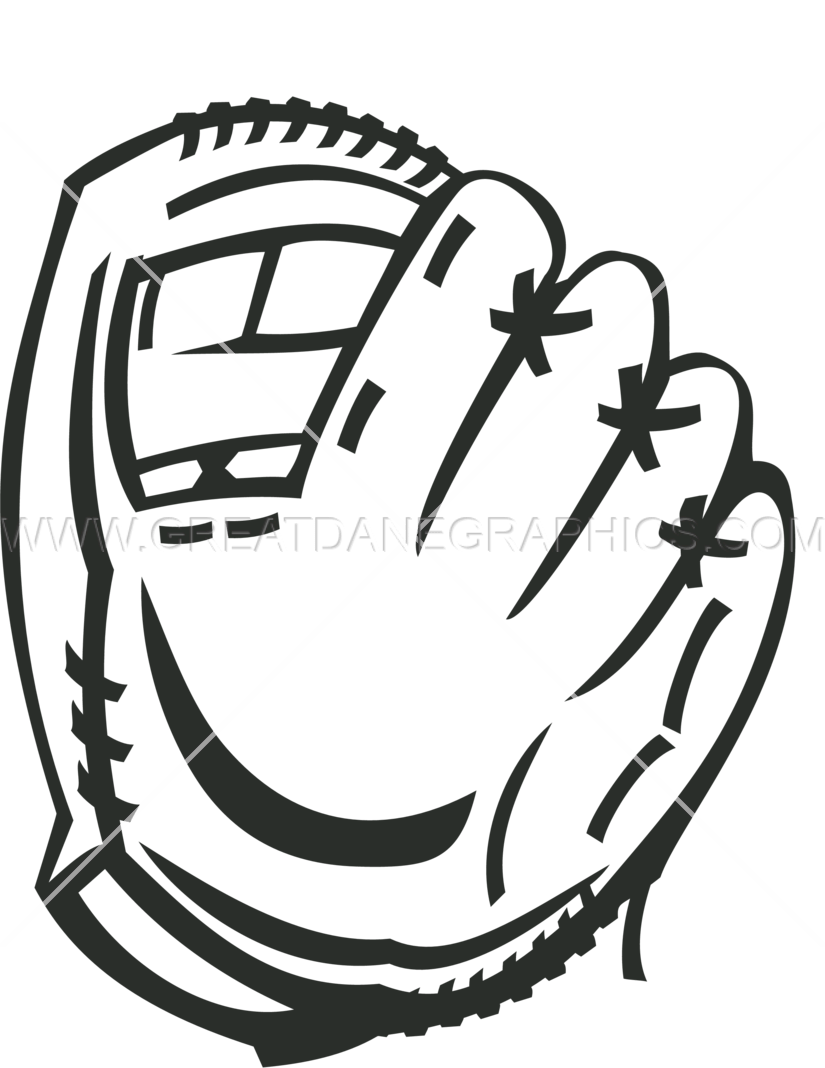 Baseball mit clipart vector royalty free 28+ Collection of Glove Drawing Baseball | High quality, free ... vector royalty free
