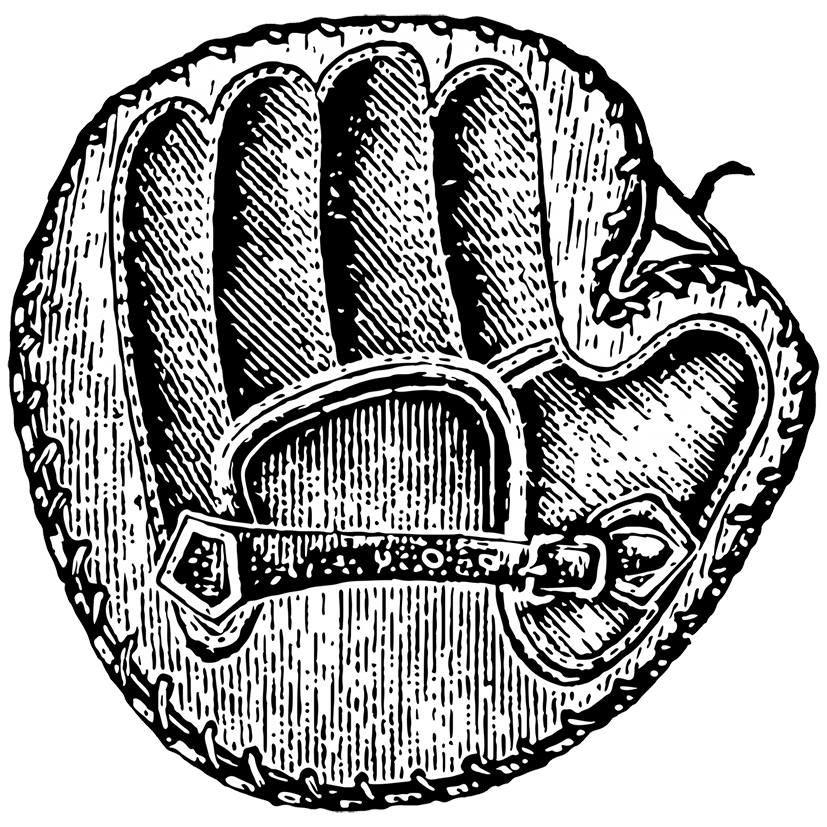 Clipart of baseball glove clip transparent library Baseball Mitt Drawing at GetDrawings.com | Free for personal use ... clip transparent library
