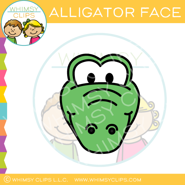 Alligator clips clipart jpg freeuse Alligator clips clip art , Images & Illustrations | Whimsy Clips ® jpg freeuse