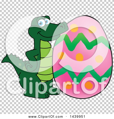 Alligator easter egg clipart vector free stock Clipart of a Gator School Mascot Character with an Easter Egg ... vector free stock