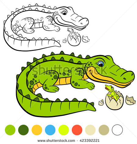 Alligator easter egg clipart graphic royalty free Crocodile Egg Stock Images, Royalty-Free Images & Vectors ... graphic royalty free