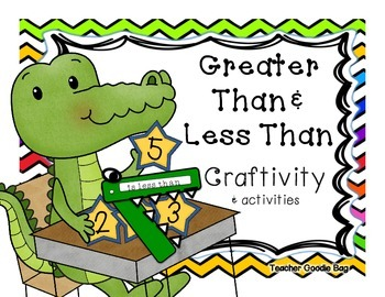 Alligator greater than less than chomp clipart svg black and white stock Comparing Numbers {Craftivity} Using Greater Than & Less Than | Math ... svg black and white stock