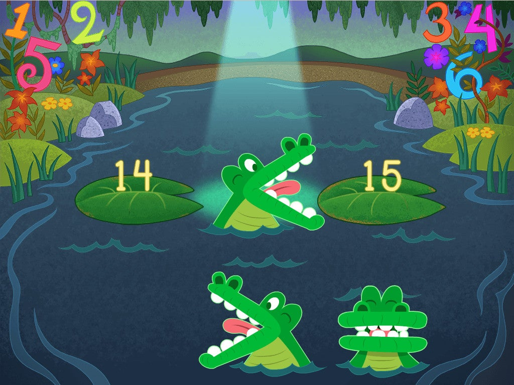 Alligator greater than less than chomp clipart svg library library Less Than or Greater Than Game | Game | Education.com svg library library