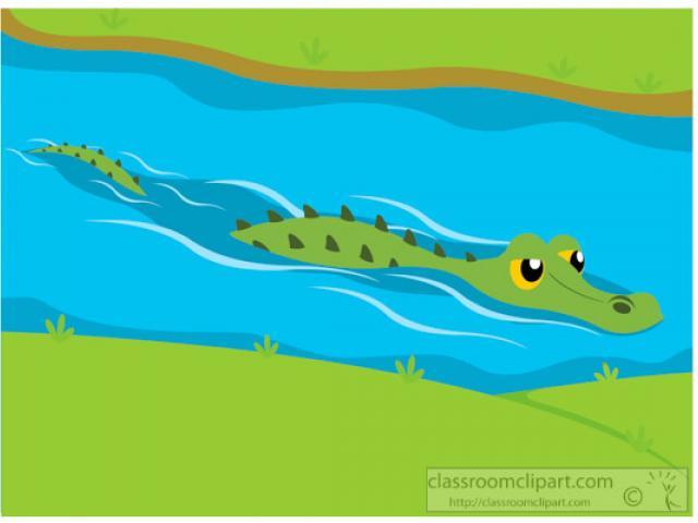 Alligator in water clipart clipart free Free Alligator Clipart bank, Download Free Clip Art on Owips.com clipart free