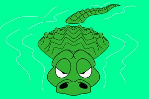 Alligator in water clipart clip art transparent download Alligator in water clipart 7 » Clipart Portal clip art transparent download
