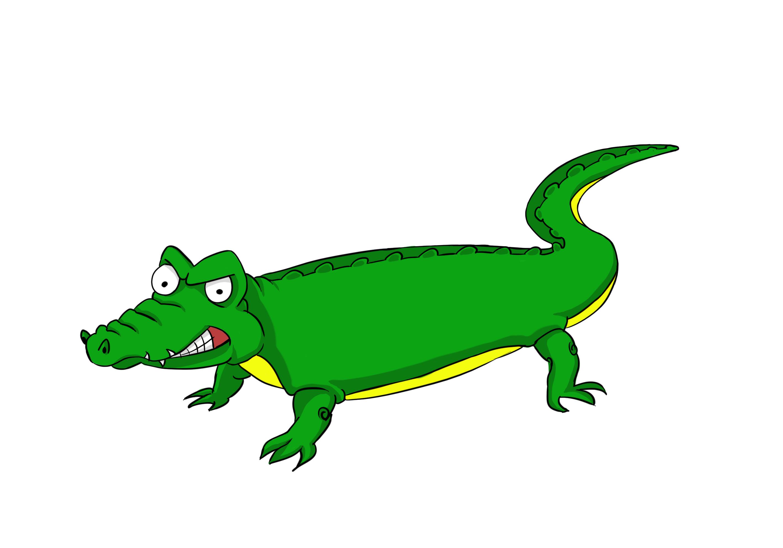 Alligator in water clipart library Crocodile in water clipart free clipart images image #34733 library